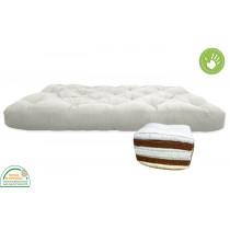 Futon Premium, futón de coco con una capa de látex