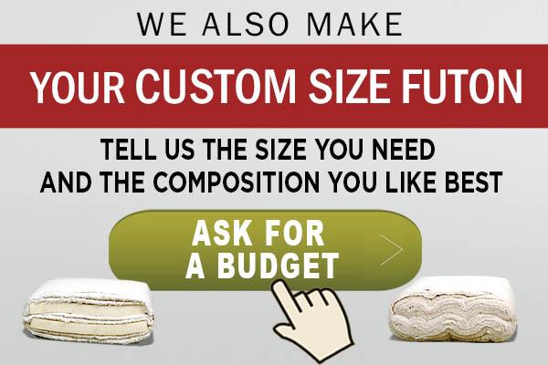 Custom size futon